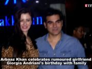 Arbaaz Khan celebrates rumoured girlfriend Giorgia Andriani's birthday