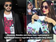 Arjun Kapoor and Malaika Arora walk hand-in-hand and shake a leg on the stage