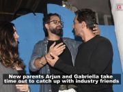 Arjun Rampal and Gabriella Demetriades just upped the ante on voguish couple style at B-town party