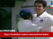 Arjun Tendulkar makes Sachin proud, claims wicket in just 12 balls