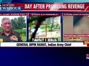 Army chief talks tough; warns Pakistan