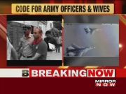 Army issues guidelines for officers and their wives