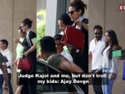 Ashoke Pandit 'requests' Salman Khan to act against Kapil Sharma; Judge Kajol and me, but don't troll my kids, says Ajay Devgn, and more