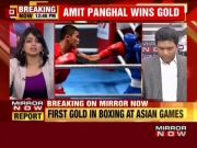 Asian Games 2018: Amit Panghal bags India's only gold in boxing