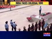 Atal Bihari Vajpayee: Chiefs of the armed forces pay tribute to former PM at Smriti Sthal