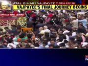 Atal Bihari Vajpayee Funeral: Narendra Modi, Amit Shah join Vajpayee's funeral procession