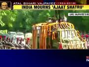 Atal Bihari Vajpayee's last journey: India faces colossal void