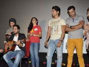 Ayushmann, Gurmeet watch Rio 2 with kids