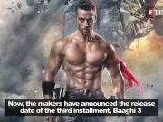 Baaghi 3: Tiger Shroff starrer to release on March 6th, 2020