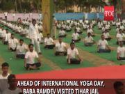Baba Ramdev encourages Tihar jailmates to do yoga, calls them 'divyatma'