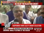 BCCI lifts ban on Rajasthan Cricket Association