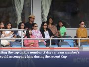 BCCI upset with senior Indian player who flouted 'family' rule during World Cup