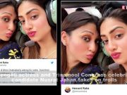 Bengali actress Nusrat Jahan hits back at trolls, slams haters