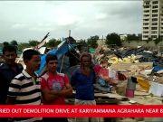 Bengaluru: BBMP demolishes 400 houses near Bellandur, residents cry foul