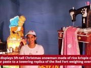 Bengaluru's annual cake show: Edible Christmas snowman, Red Fort on display