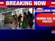 Bharat Bandh: Bahujan Kranti Morcha stages 'Rail roko' protest in Mumbai against CAA-NRC