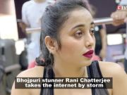 Bhojpuri star Rani Chatterjee raises temperature in this swimwear!