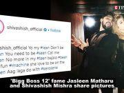 'Bigg Boss 12' contestants Jasleen Matharu and Shivashish Mishra party together