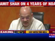 BJP chief Amit Shah presents 'report card' on NDA govt's 4 years