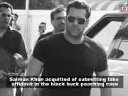 Blackbuck poaching case: Jodhpur Court acquits Salman Khan for submitting fake affidavit