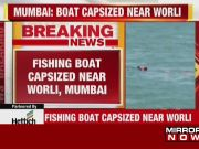 Boat capsizes near Worli, 6 out of 7 fishermen rescued