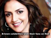 Bollywood celebrities send out Holi wishes to fans