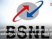 BSNL के 80,000 कर्मचारी ले सकते हैं VRS