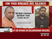 Bulandshahr violence was an accident: UP CM Yogi Adityanath