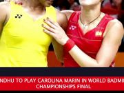 BWF World Badminton Championships 2018: PV Sindhu sets up title clash with Carolina Marin
