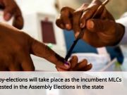 By-elections for 3 MLC seats in Andhra Pradesh on Aug 26