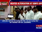 Caught on Cam: BJP MLA threatens SDM in MP's Sagar