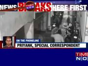 CCTV footage: Goons shot a man in Delhi's Jahangirpuri