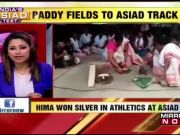 Celebrations begin at Hima Das' hometown after athlete's 400m silver medal at Asian Games 2018