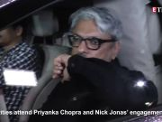 Celebrities attend Priyanka Chopra and Nick Jonas  engagement bash