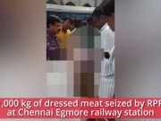 Chennai: 1,000 kg of suspected dog meat seized by RPF at Egmore station
