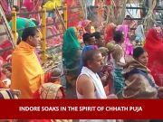 Chhath puja: Indore soaks in the spirit of festival