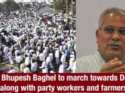 Chhattisgarh: Row over paddy procurement, Bupesh Baghel to march to Delhi