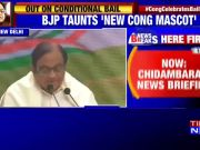 Chidambaram reveals what his first thought was after coming out of Tihar jail