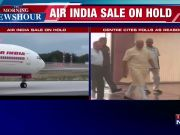 Citing polls, govt puts Air India sale on hold