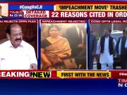 CJI removal notice rejected: Congress to move SC, BJP hits back