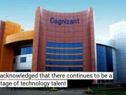 Cognizant applies for 80% less H-1B visas