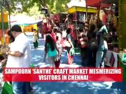 Craft groups showcase their talent at 'Santhe' in Chennai