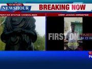 CRPF jawan arrested for vandalising Periyar statue in Tamil Nadu