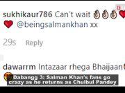 Dabangg 3: Salman Khan returns as Chulbul Pandey, fans go crazy
