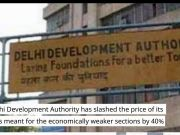 DDA cuts rate for EWS flats in Narela
