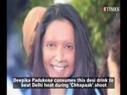 Deepika Padukone takes this desi drink to beat Delhi heat during 'Chhapaak' shoot; Sara Ali Khan's transformation journey, and more…