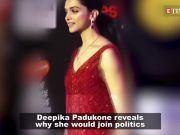 Deepika Padukone wants to be the Minister of Swachh Bharat!