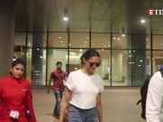 Deepika Padukone's goes all sporty for her latest airport look