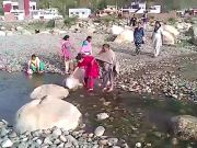 Dehradun: Villagers forced to scrape pits to get water