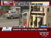 Delhi: Autos, petrol pumps to go on strike today